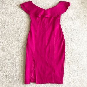 NEW Just Me Pink Mini Dress